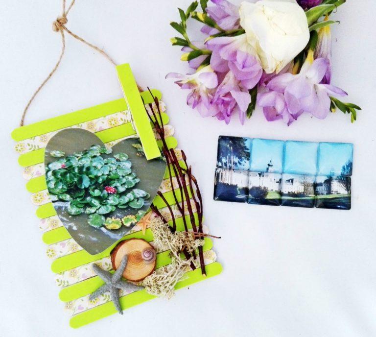 Íme két kreatív ötlet, hogyan készíts nyári emlékeidből dekorációt